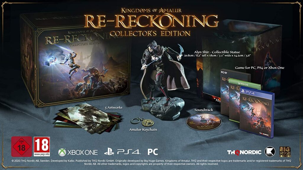 Kingdom Of Amalur Re Reckoning Edition Collector
