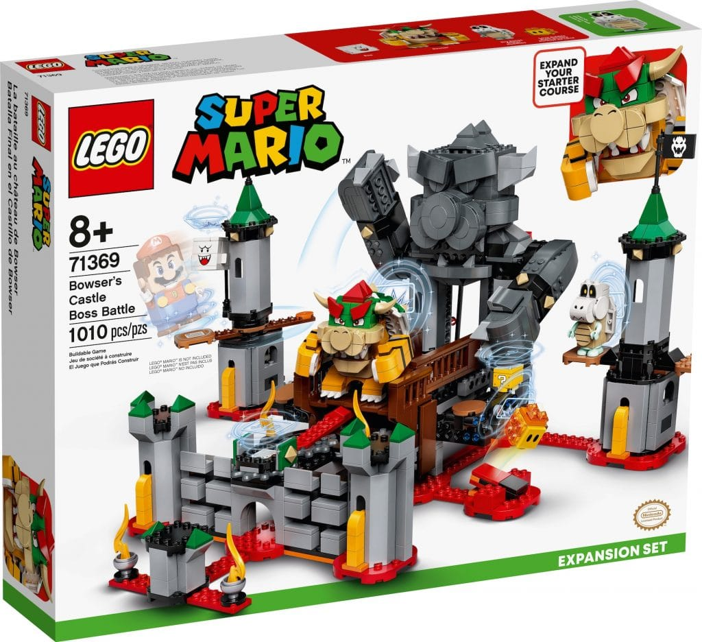 Lego Super Mario Bataille Chateau Bowser Package