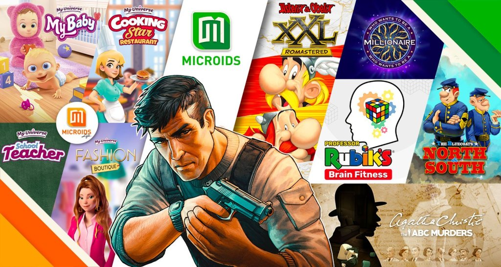 Microids Line Up 2020