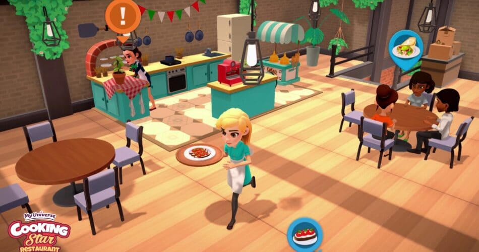 My Universe Cooking Star Restaurant Screen