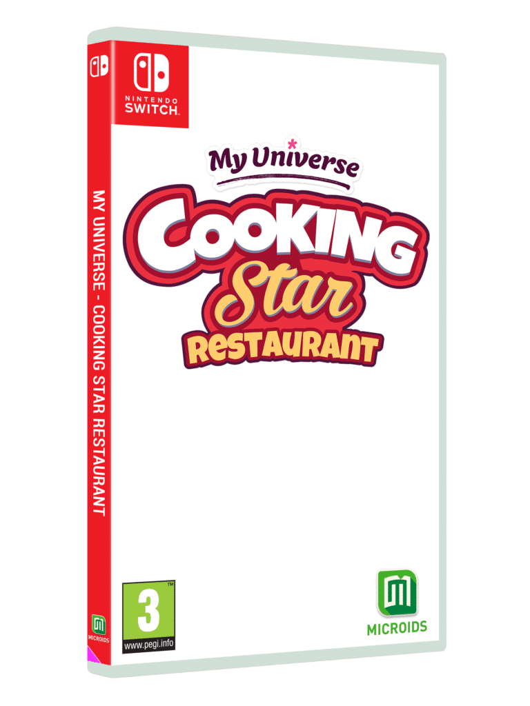 My Universe Cooking Star Restaurant Switch