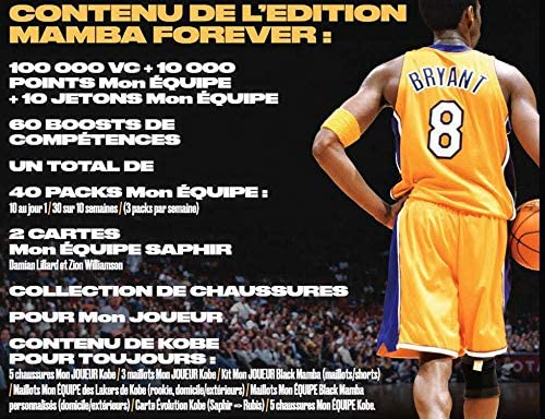 NBA 2k21 Edition Mamba Forever