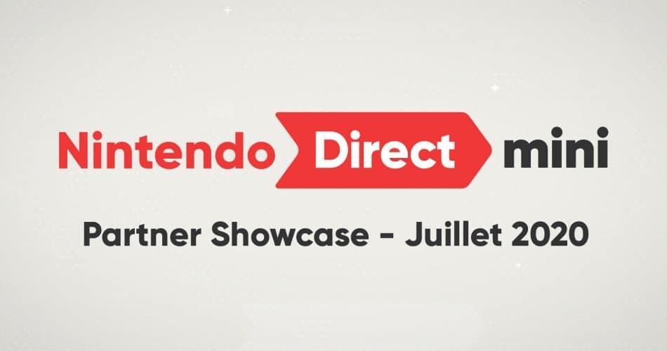 Nintendo Direct Mini Partner Showcase Juillet 2020