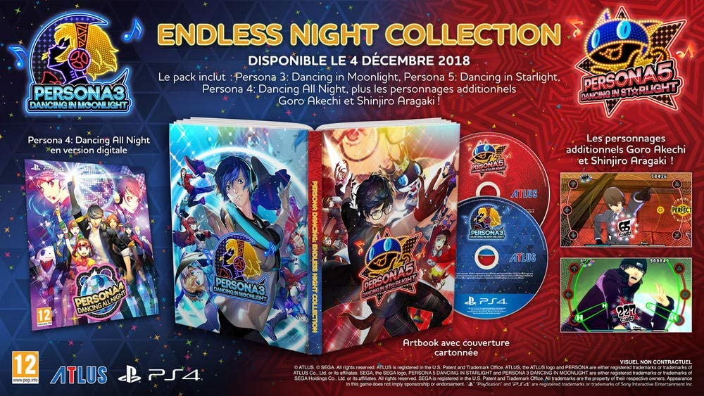 Persona Dancing Endless Night Collection PS4 Vf