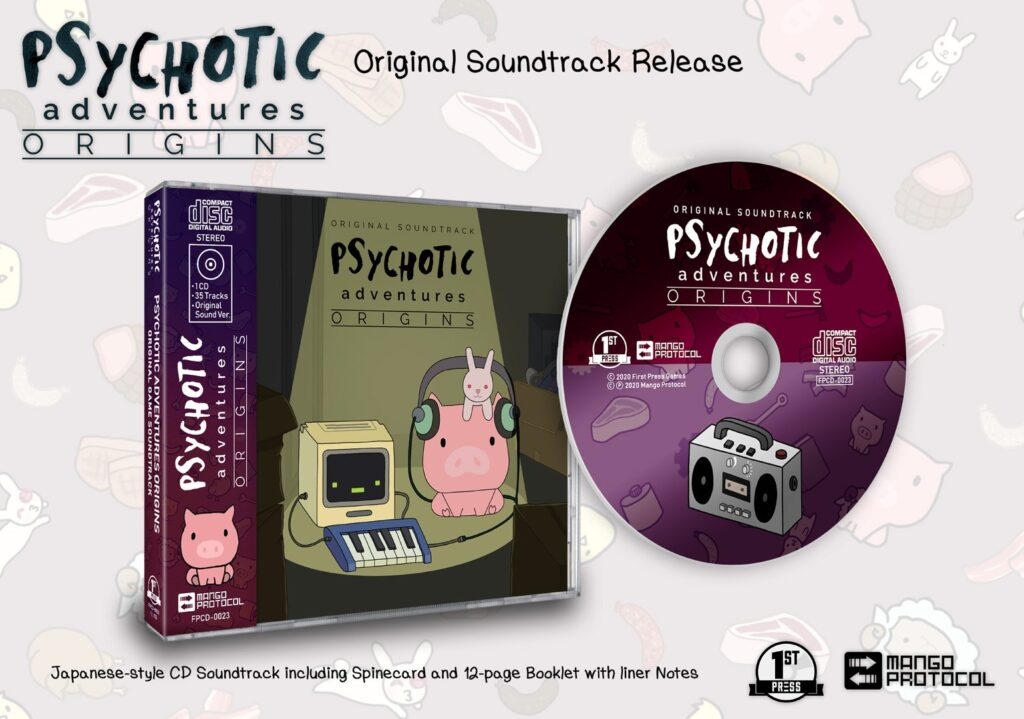 Psychotic Adventures Origins Ost