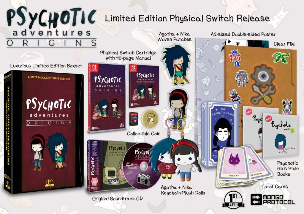 Psychotic Adventures Origins Switch Collector