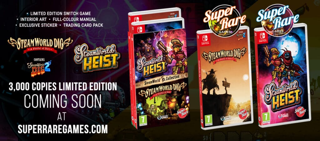 Steamworld Dig Steamworld Heist