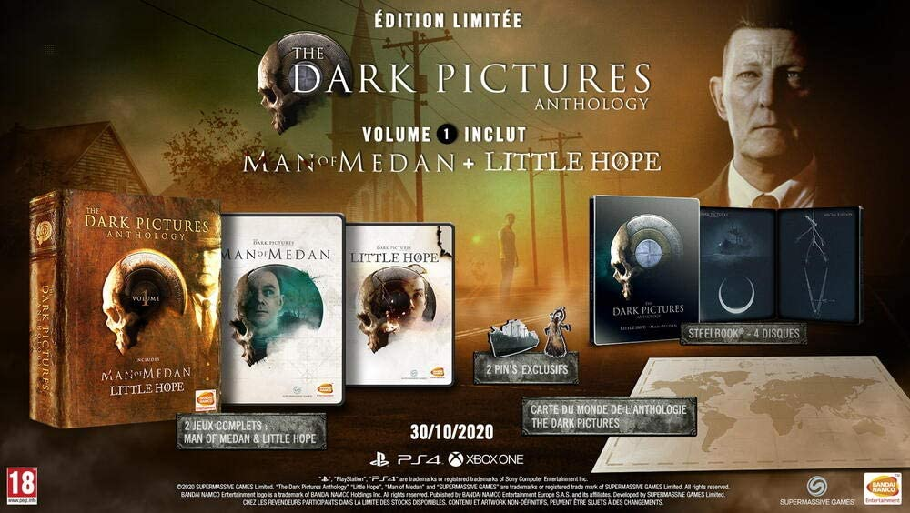 The Dark Pictures Anthology Volume 1 Edition Limitee