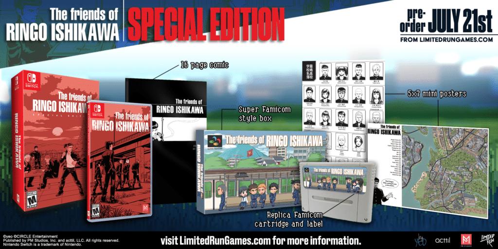The Friends Of Ringo Ishikawa Lrg Edition Speciale