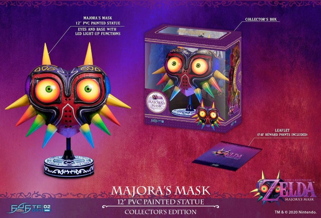 The Legend Of Zelda Majoras Mask Edition Collector
