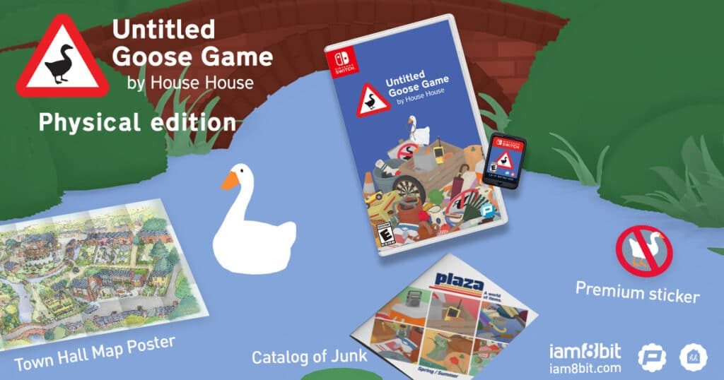 Untitled Goose Game Switch Packshot