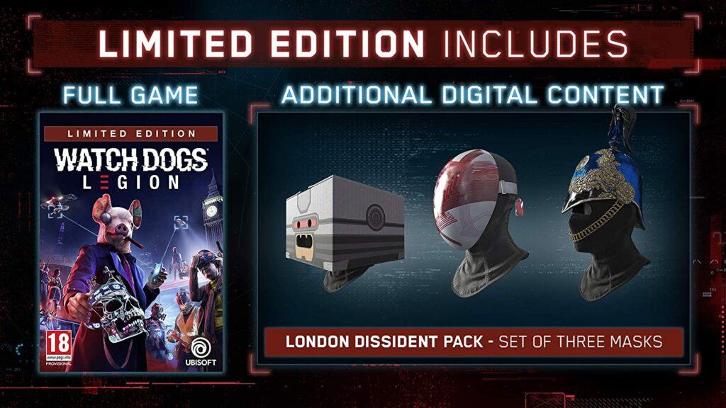 Watch Dogs Legion Edition Limitee