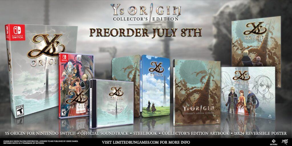 Ys Origin Edition Collector Lrg