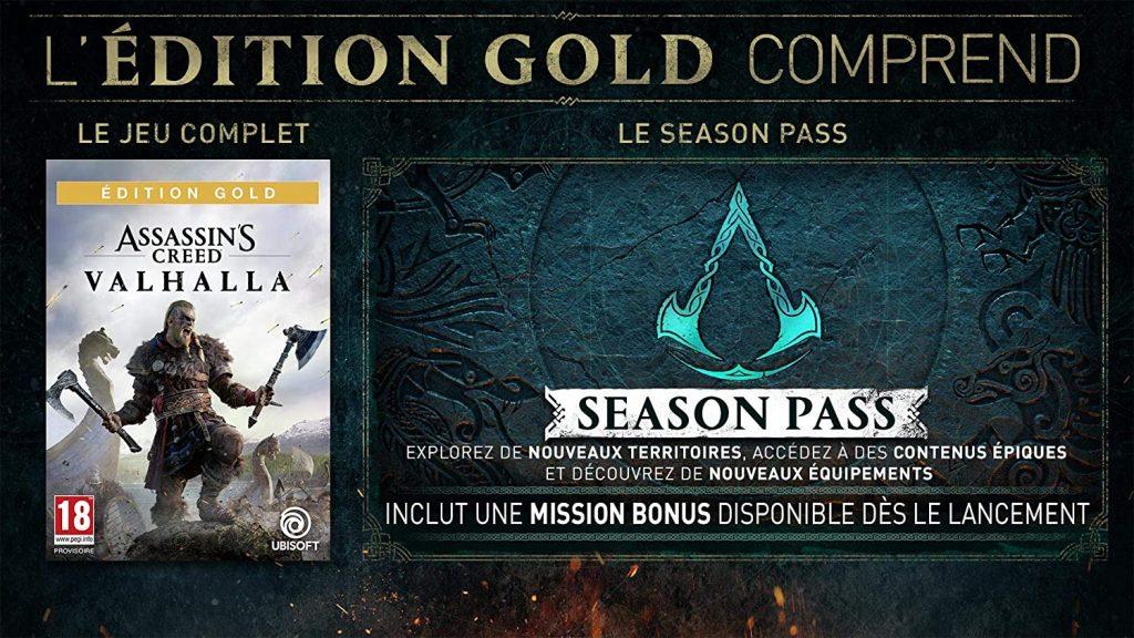 Assassins Creed Valhalla Edition Gold