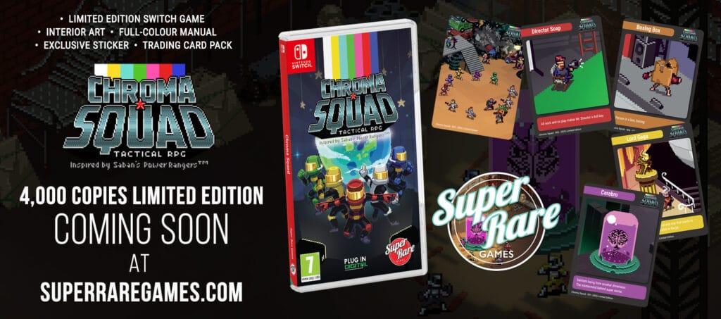 Chroma Squad Switch Super Rare Games