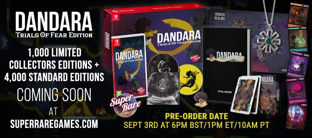 Dandara Trials Of Fear Edition Super Rare Games