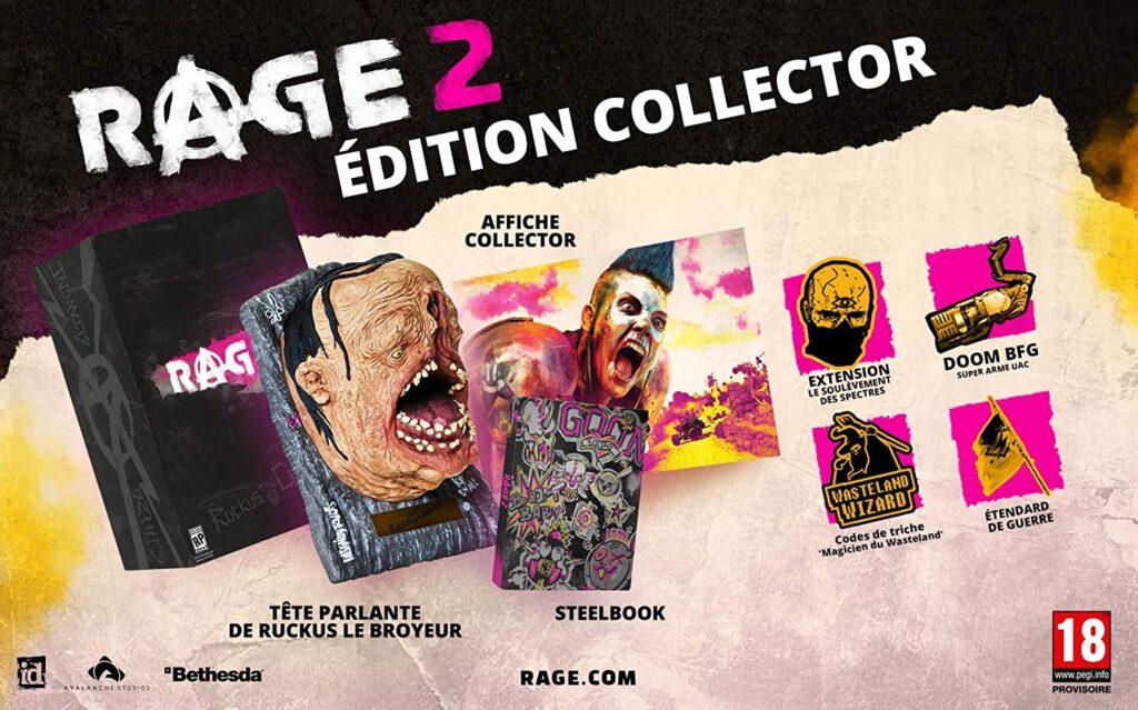 Rage 2 Edition Collector