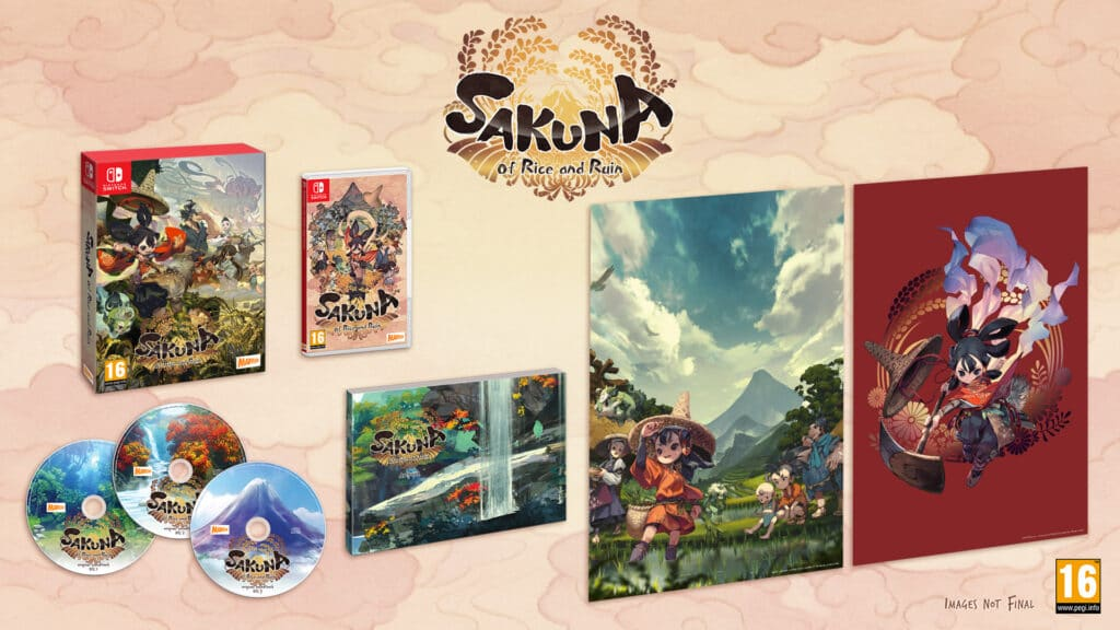 Sakuna Of Rice And Ruin Edition Limitee Switch
