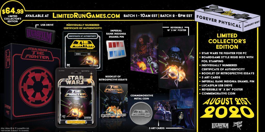 Star Wars Tie Fighter Pc Lrg Collector