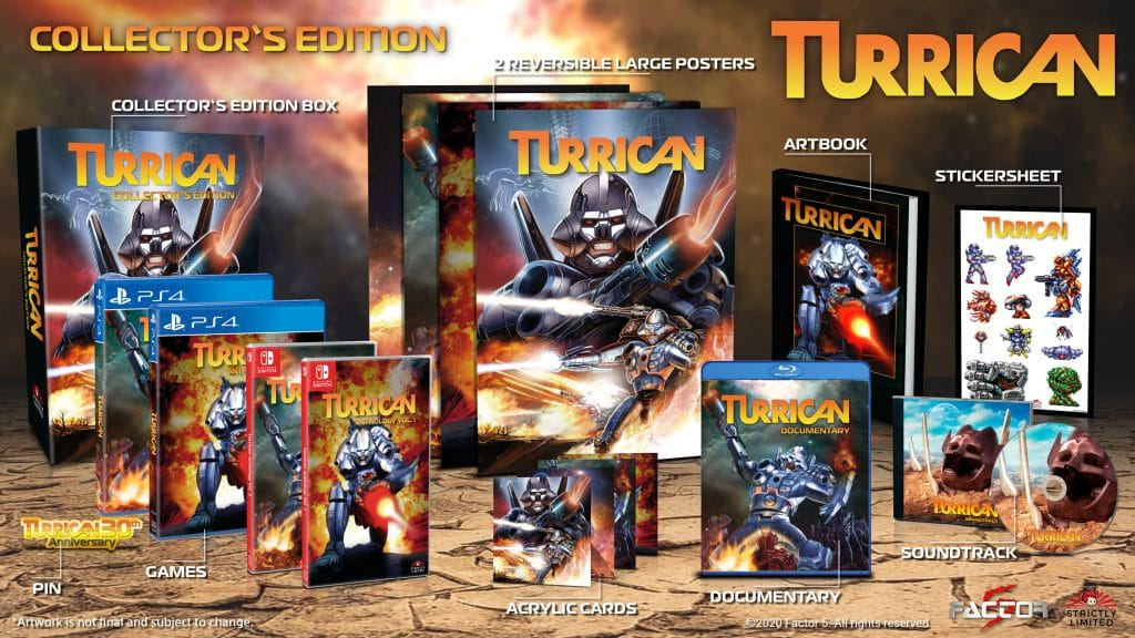 Turrican Anthology Collector Edition