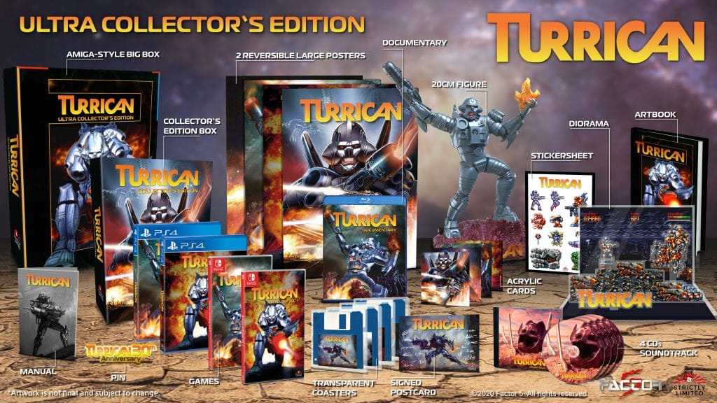 Turrican Anthology Ultra Collector Edition