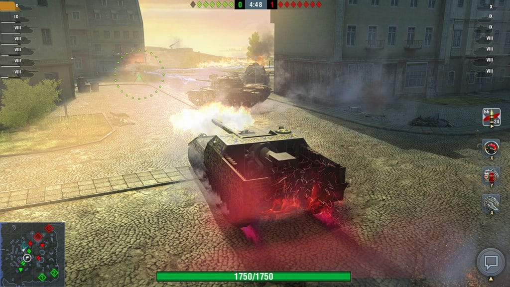 World Of Tanks Blitz Switch Screen 01