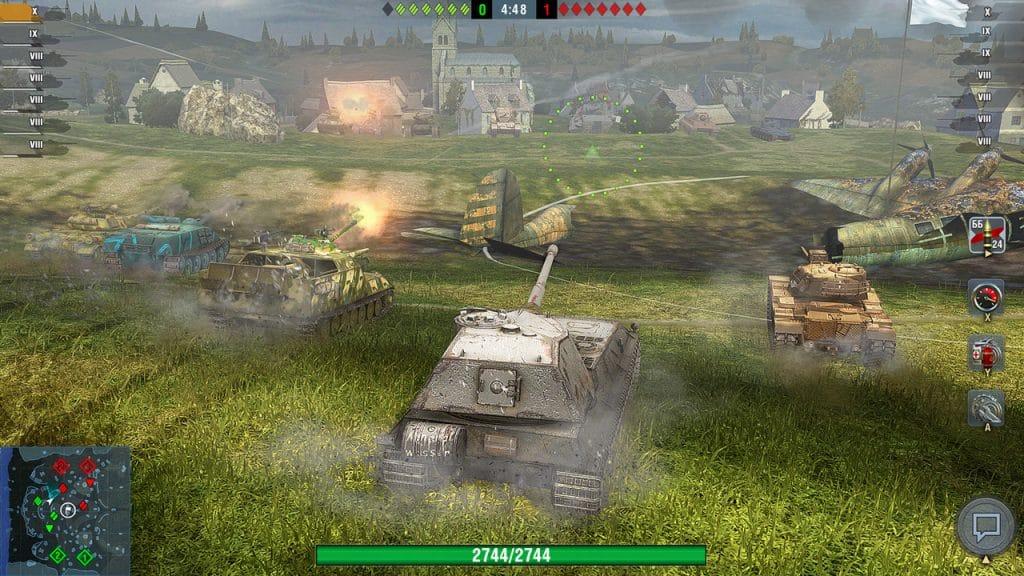 World Of Tanks Blitz Switch Screen 02