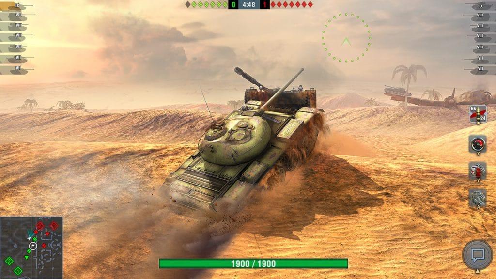 World Of Tanks Blitz Switch Screen 05
