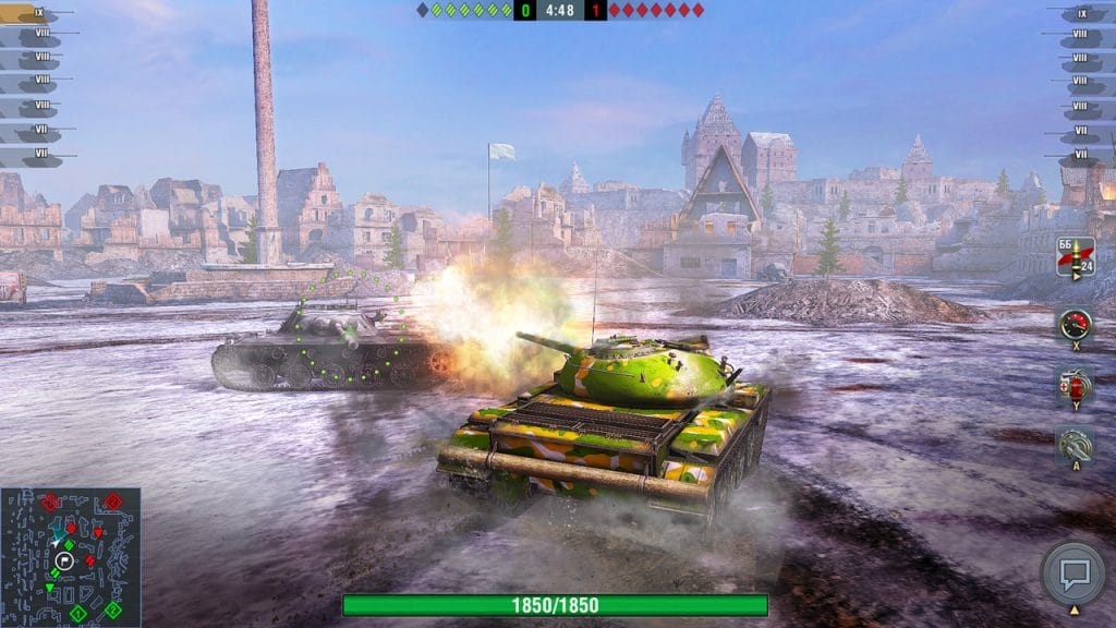 World Of Tanks Blitz Switch Screen 06