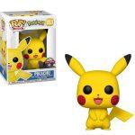 Figurine Funko Pop Games Pokemon S1 Pikachu Avant Premiere Fnac