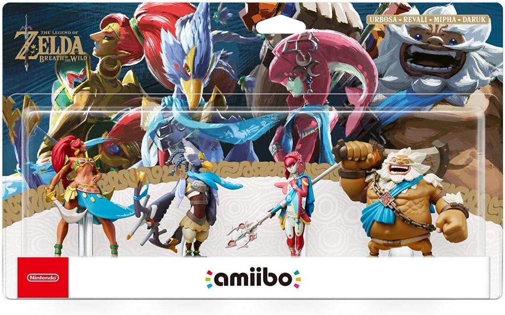 Amiibo The Legend Of Zelda Botw Prodiges