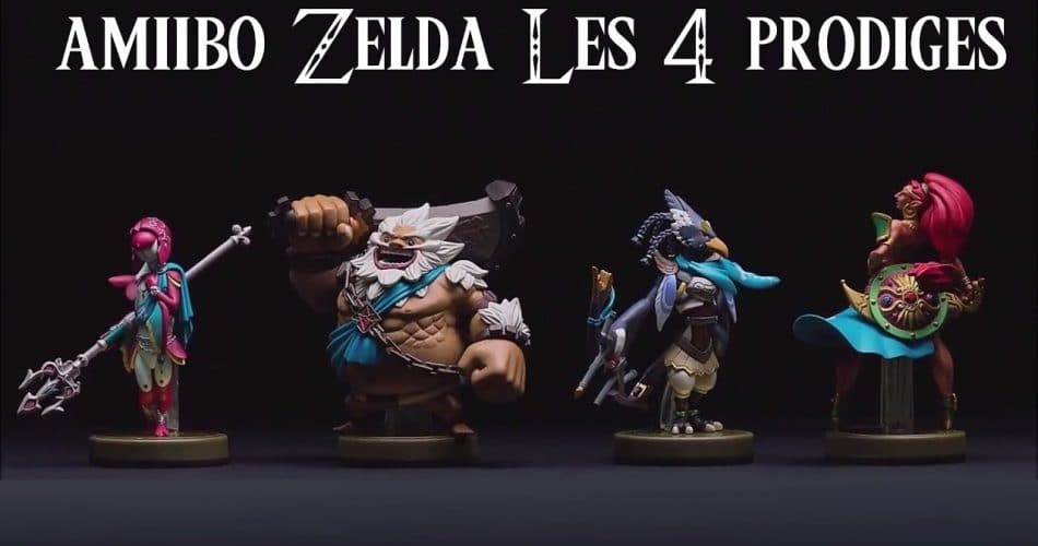 Amiibo The Legend Of Zelda Prodiges
