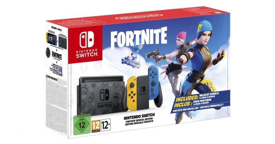 Console Nintendo Switch Edition Fortnite