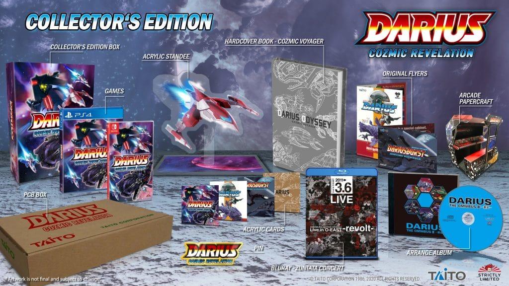Darius Cozmic Revelation Edition Collector