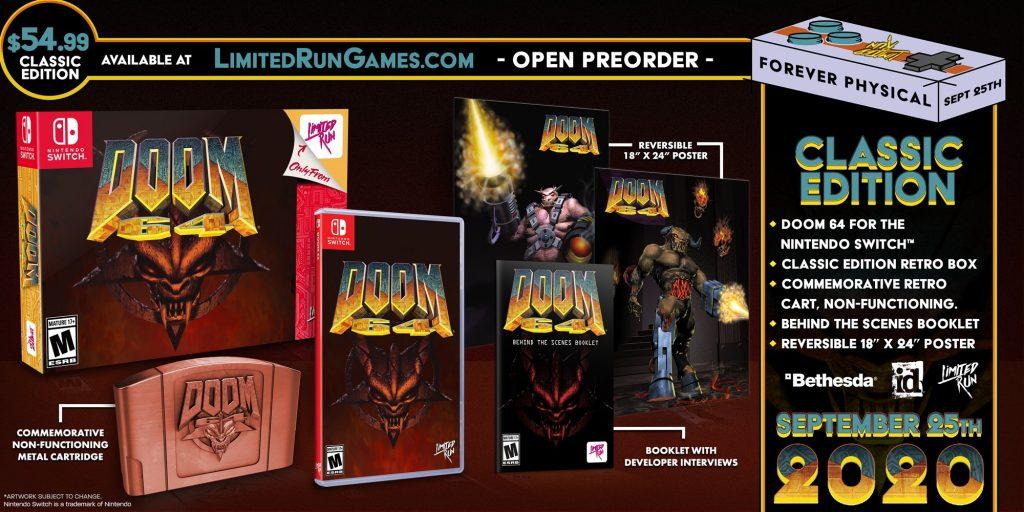 Doom 64 Lrg Classic Edition