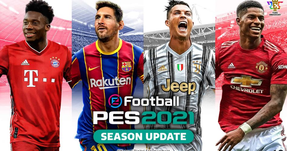 Efootball 2021 Season Update