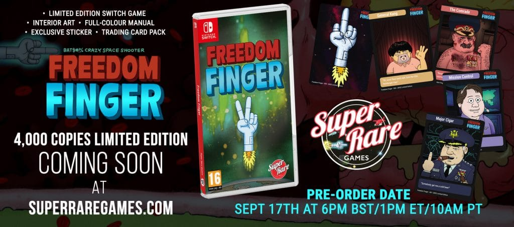 Freedom Finger Super Rare Games