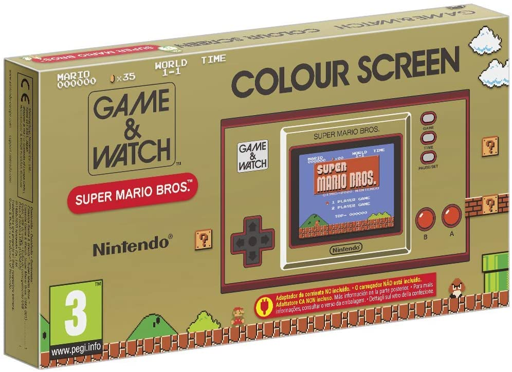 Game Watch Super Mario Bros Pack