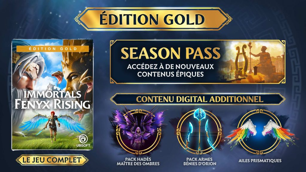 Immortals Fenyx Rising Edition Gold