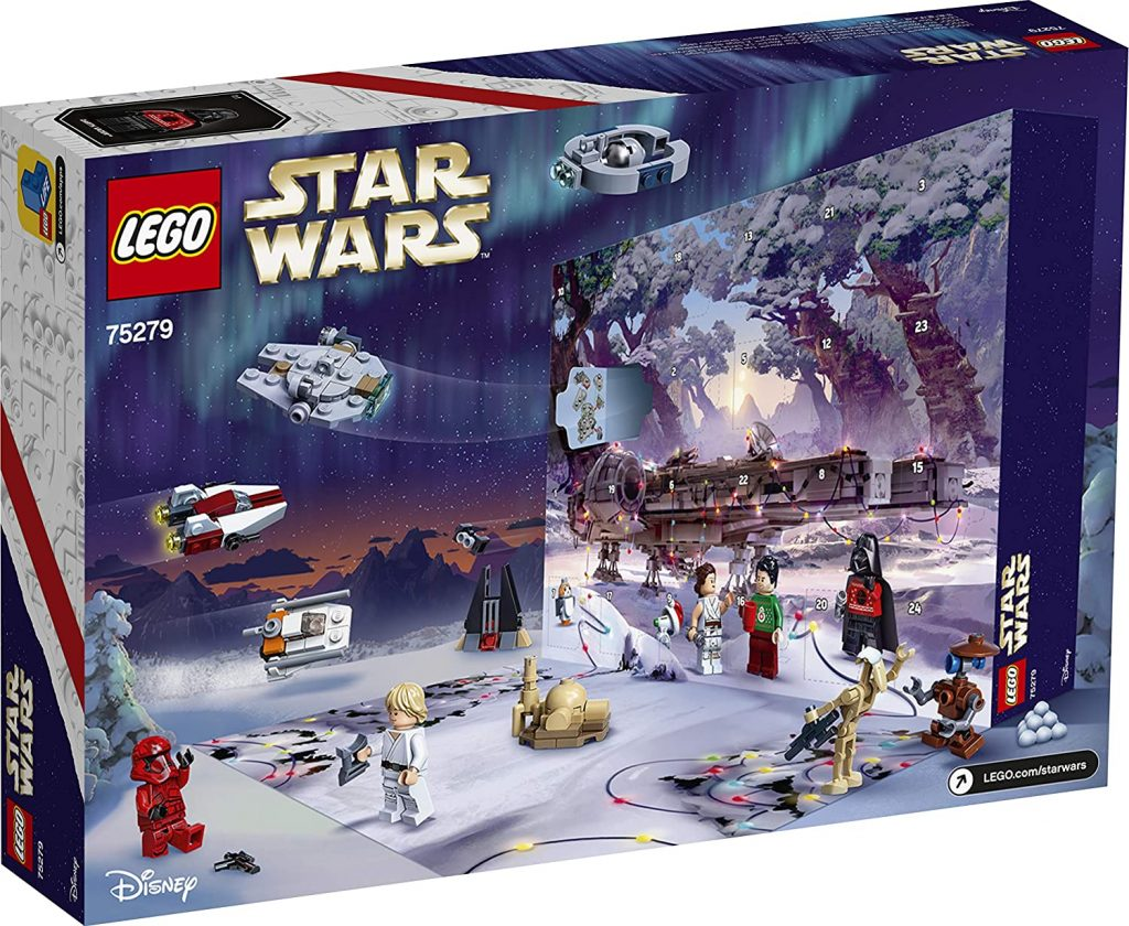 Lego Star Wars Calendrier Avent 2020 Pack
