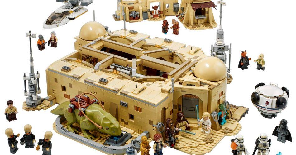 Lego Star Wars La Cantina De Mos Esley