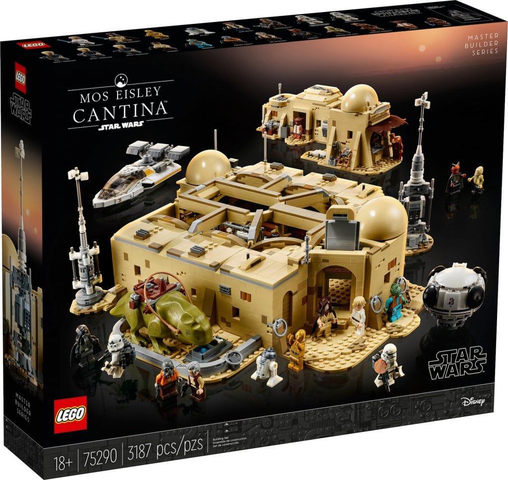 Lego Star Wars La Cantina De Mos Esley Pack