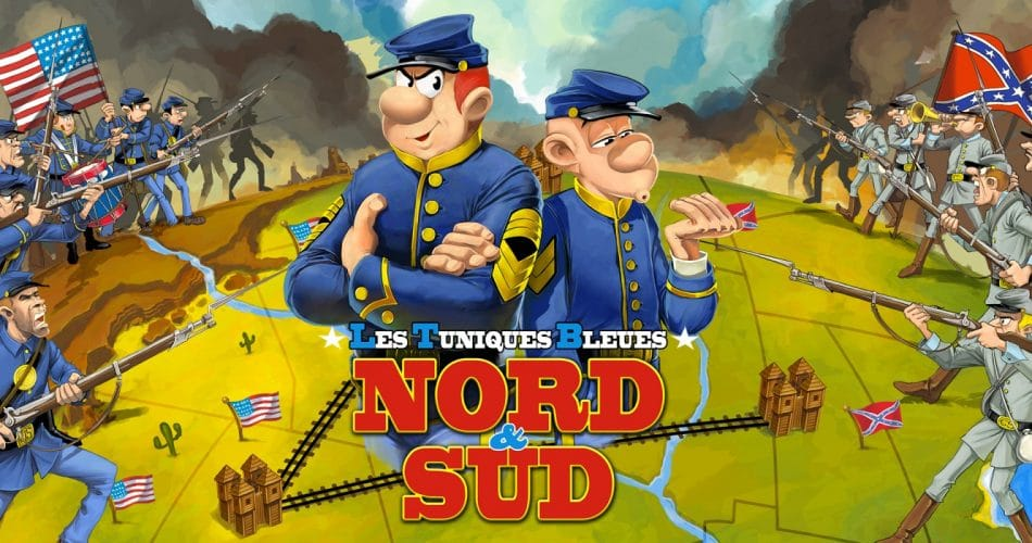 Les Tuniques Bleues Nord Sud