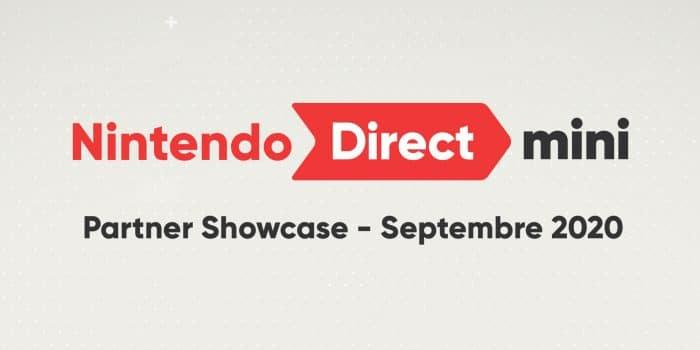 Nintendo Direct Mini Partner Showcase 2020 Septembre