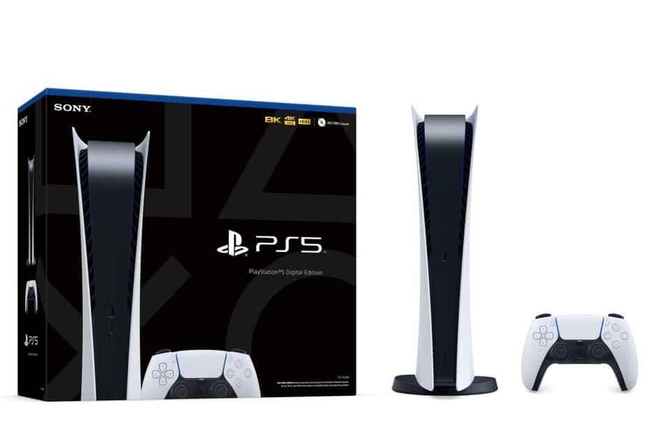 Playstation 5 PS5 Digital Edition Pack