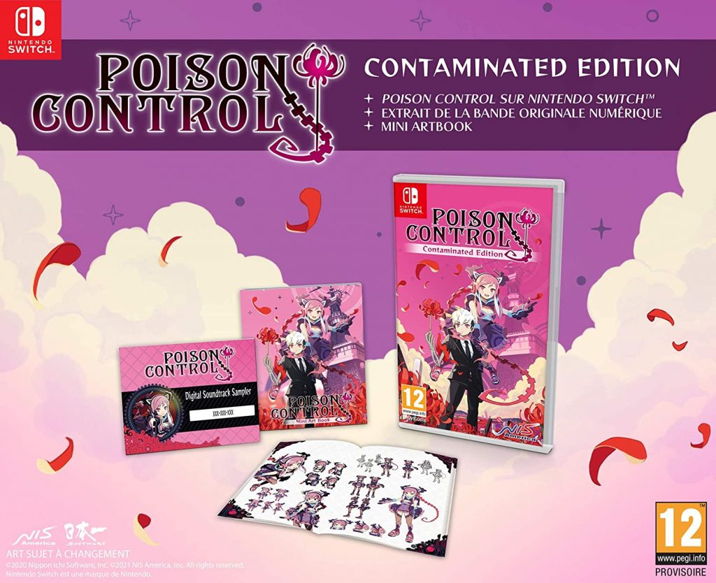 Poison Control Contaminated Edition Switch
