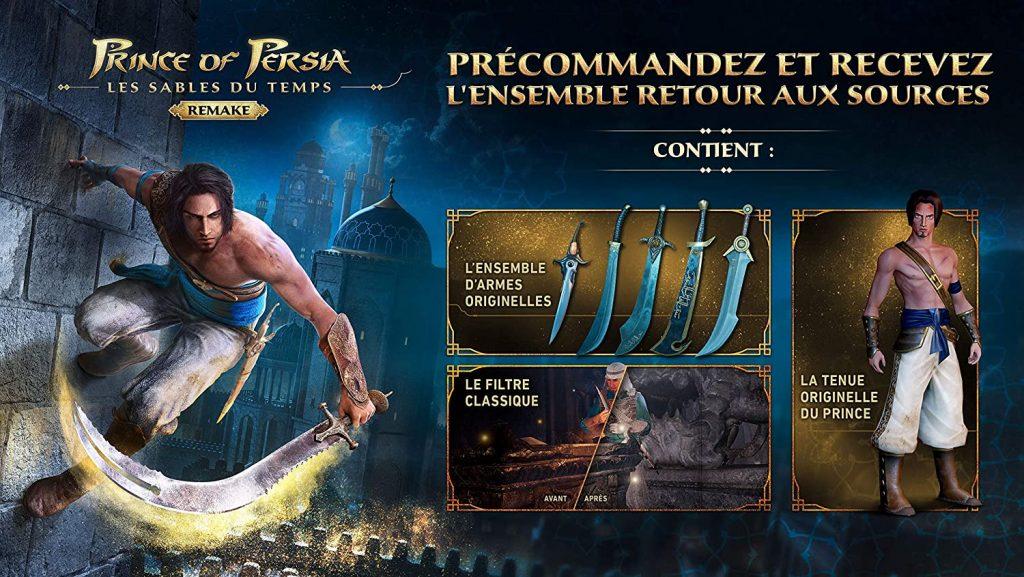 Prince Of Persia Remake Precommandes