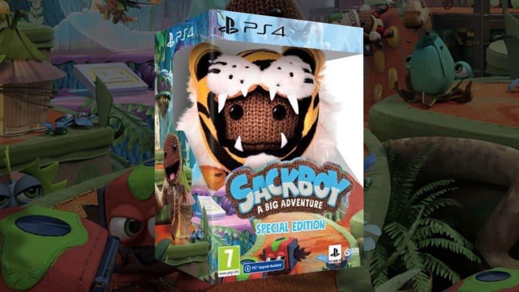 Sackboy A Big Adventure Special Edition