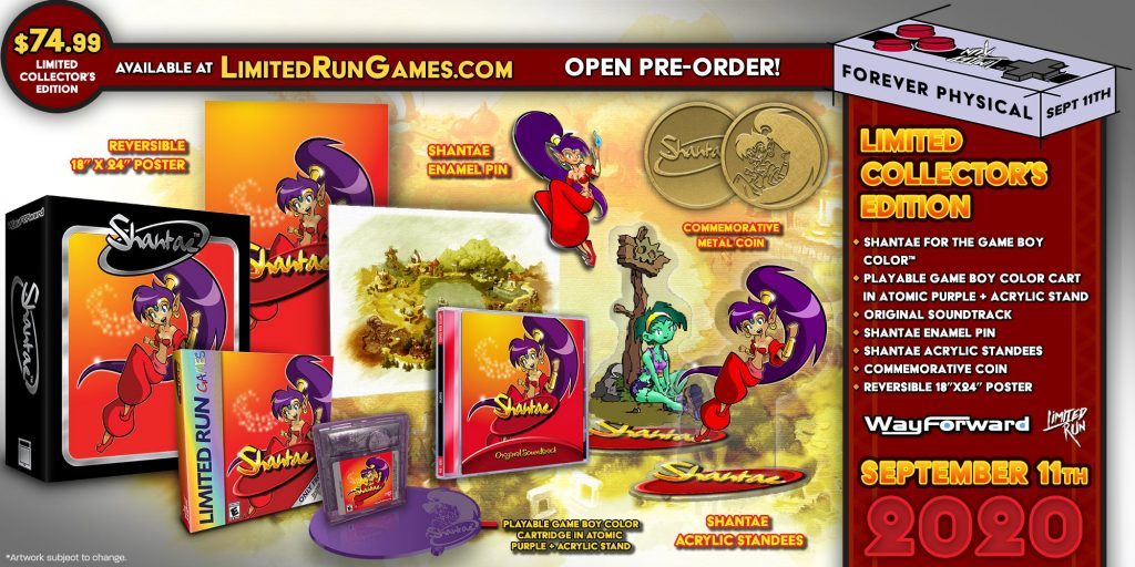 Shantae Gbc Lrg Collector