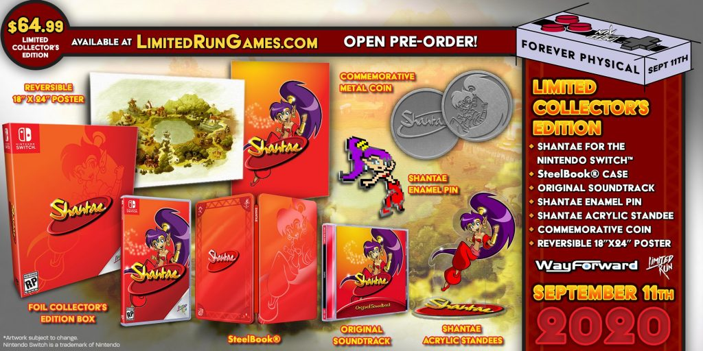 Shantae Switch Lrg Collector